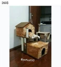 Arranhador duplex para gatos
