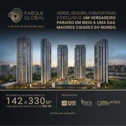Parque Global apartamentos de 142 m² a 552 m² 2 a 5 vagas Residencial, Shopping