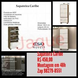 Sapateira Caribe / Montagem Grátis.