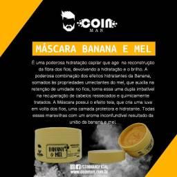 Máscara Capilar Banana e Mel - Reconstrução Capilar 300g