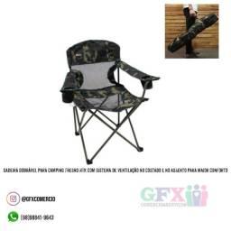 Cadeira para camping dobrável