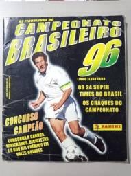 Álbum Panini Campeonato Brasileiro 96 Completo