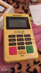 Título do anúncio: Maquininha minizinha chip2