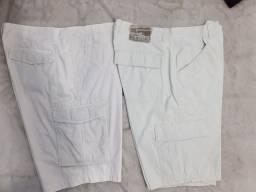 4 shorts masculino tamanho 52 usado ( não entrego)