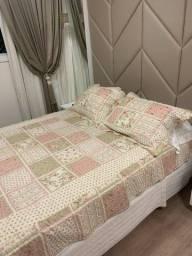 Jogo de cama casal- novo
