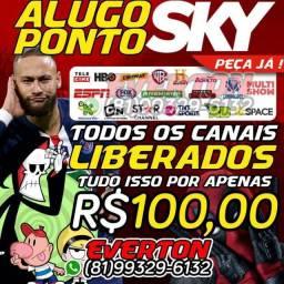 Título do anúncio: SKY HDTV LEVAMOS AGORA MESMO ATE VC