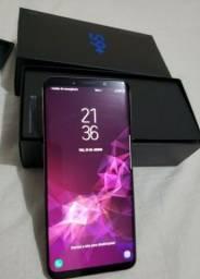 Samsung s9 plus 128 giga 2chip biométrico desbloqueio facial