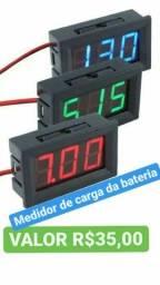 Título do anúncio: Medidor de carga de bateria de veículos