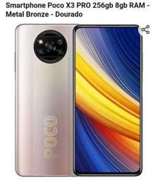 Título do anúncio: Poco xPro 256 GB 8 Ram