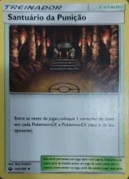 Oferta! Carta Pokémon Treinador Santuário Da Punição 143/168