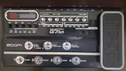 Pedaleira Zoom G7.1ut Valvulada com USB para Guitarra<br><br>(aceito trocas)