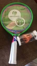 Raquete Badminton + rede