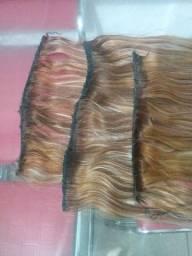 Título do anúncio: Três telas de cabelo humano.