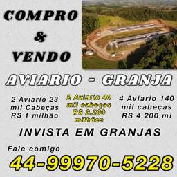 VENDO AVIARIO PARANÁ PR SC MT MS