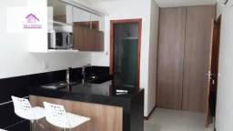 Apartamento com 1 dormitório para alugar, 30 m² por R$ 1.350,00/mês - Mata da Praia - Vitó