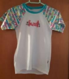 Camisa UVA Puket tamanho 12