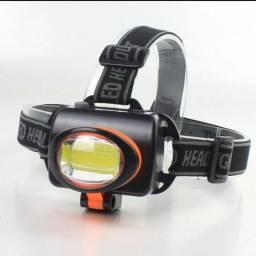 Lanterna Farol De Cabeça Para Bike Moto Camping Trilha Premium