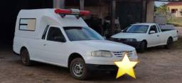 Saveiro Ambulancia