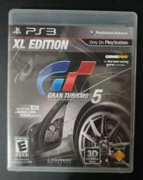 Jogo PS3 GT Gran Turismo 5