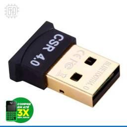 Adaptador Usb Bluetooth 4.0 Dongle Portátil Para Pc e Notebook