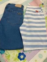 Calça Jeans e bermuda Colcci