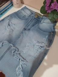 Saia jeans P e M