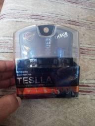 Lampada automotiva teslla azul