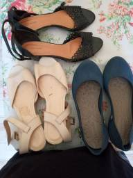 Sandálias e sapato