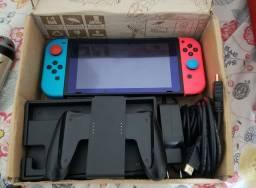 Título do anúncio: Nintendo Switch - C/ 3 Jogos