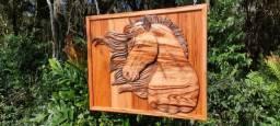Título do anúncio: Artesanato em Madeira -cavalo
