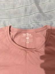 Título do anúncio: Camiseta GG Rosa claro