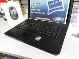 Notebook Lenovo    Core i3  500Gb Hd  4GB   Formatado C/Garantia