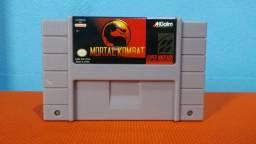 Título do anúncio: Cartucho Super Nintendo - Mortal Kombat