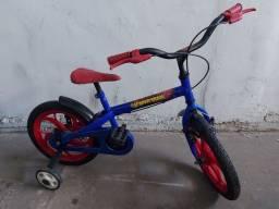 Bicicleta infantil aro 16 do homem aranha - crianças de 3 a 5 anos