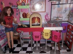 Pizzaria da Skipper Barbie Mattel Original