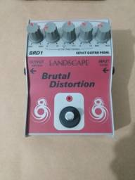 Título do anúncio: Pedal distorção Landscape Brutal Distortion