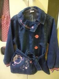 Linda Jaqueta Jeans Infantil