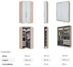 Título do anúncio: Vendo guarda roupa modular a preço menor