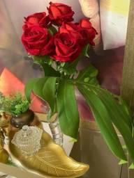 Arranjo Floral Rosas Toque Real