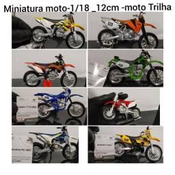 Miniatura motos -trilha