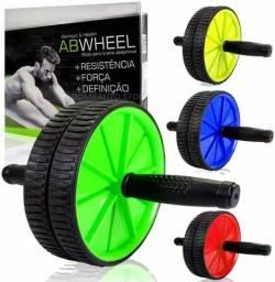 Título do anúncio: Roda Abdominal Ab Wheel Exercicios Abdominais Lombar Fitness