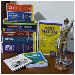 Livros para estudo de direito atualizados 2021 numca usado