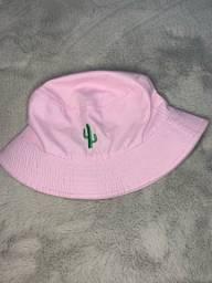 Título do anúncio: Bucket chapeu cacto rosa