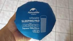 Naturehike Isolante térmico inflável FC12 com travesseiro - novo - por R$350