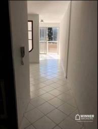 Título do anúncio: Apartamento com 3 dormitórios para alugar, 84 m² por R$ 1.200,00/mês - Zona 06 - Maringá/P