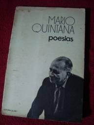 Livro: Poesias - Mario Quintana - Autografado - Raro