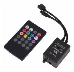 Sensor Controlador Fita De Led Rgb Rítmico Musical 5050 3528