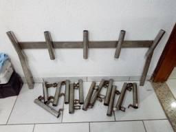 Porta varas inox