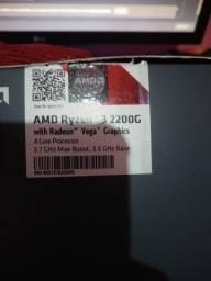 Vendo Ryzen 3 2200g (2 meses de uso)