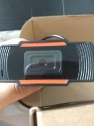 Web Câmera HD 720P novo + Netbook usado